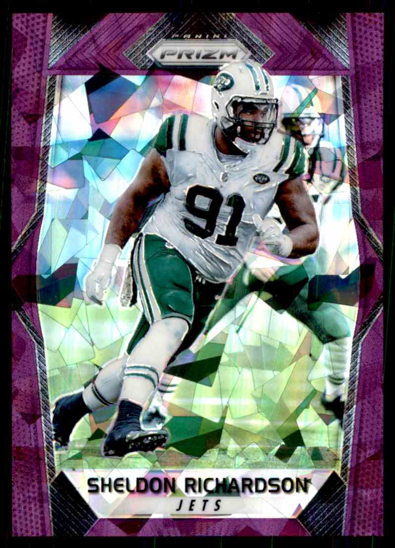 2017 Prizm Sheldon Richardson card front image
