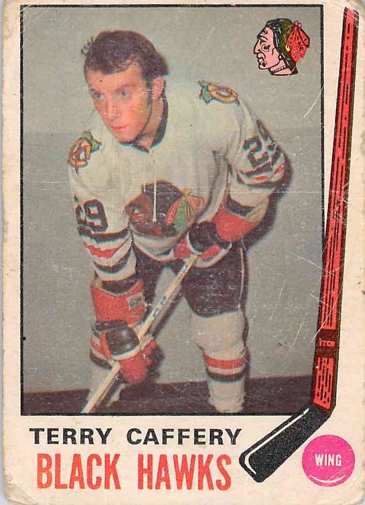 1969-70 O-Pee-Chee Terry Caffery #135 card front image