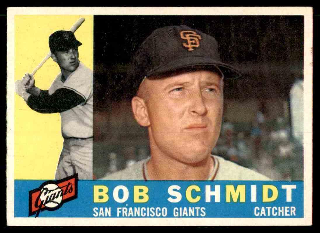 1960 Topps Bob Schmidt #501 card front image