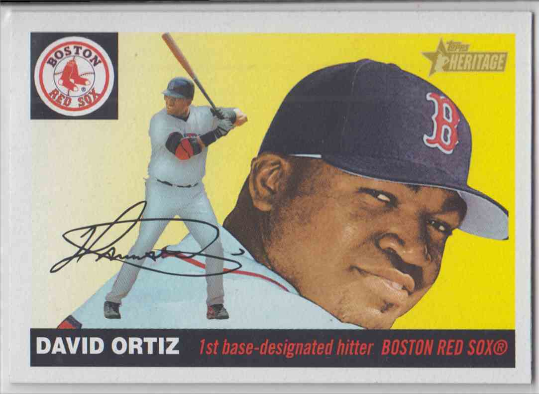 2004 Topps Heritage David Ortiz 406 On Kronozio