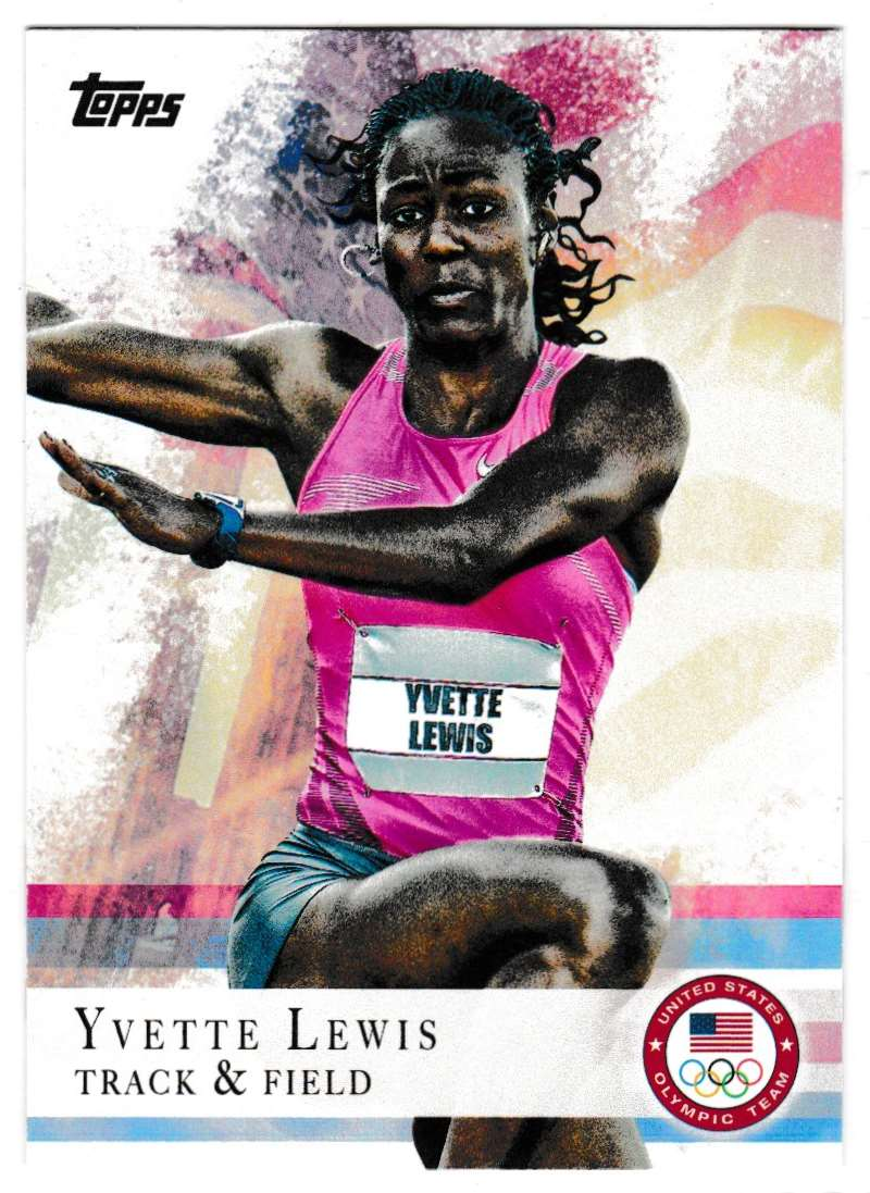 2012 Topps Olympic Team Yvette Lewis #94 card front image