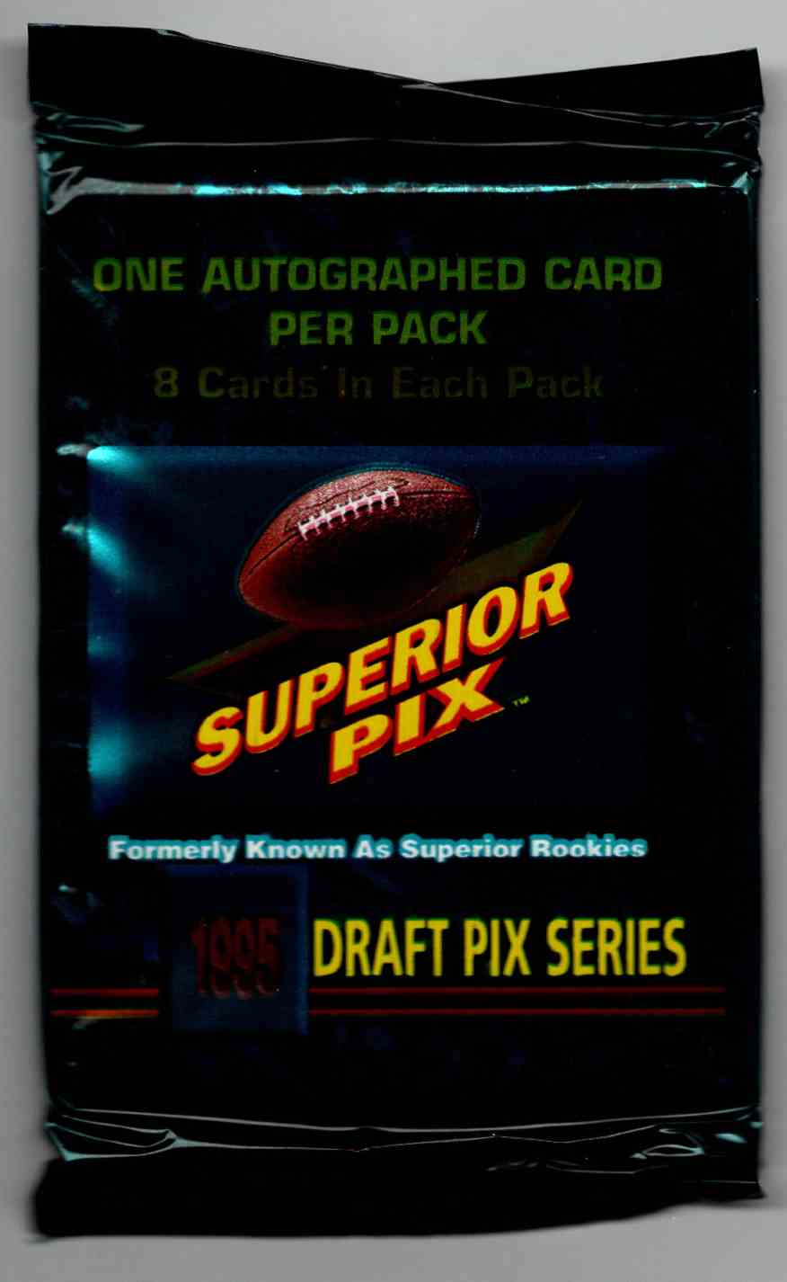 1995 Superior Pix Unopened Pack #8 card front image