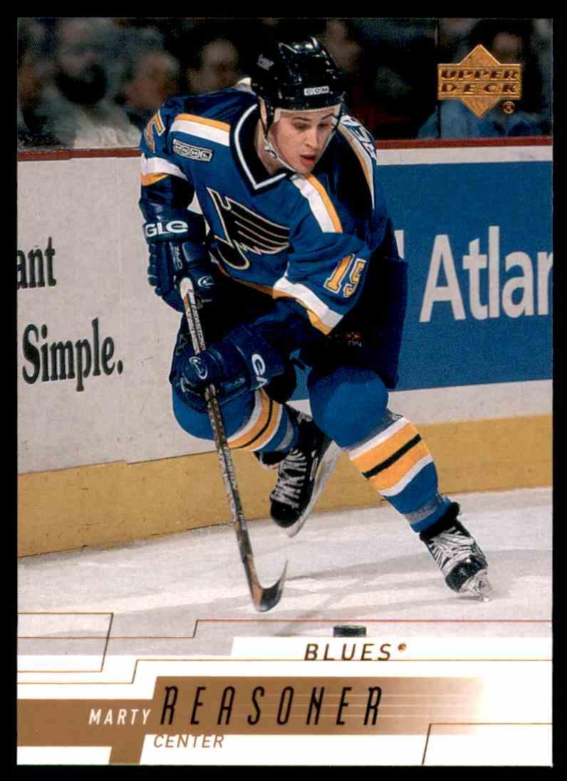 2000-01 Upper Deck Marty Reasoner #155 card front image