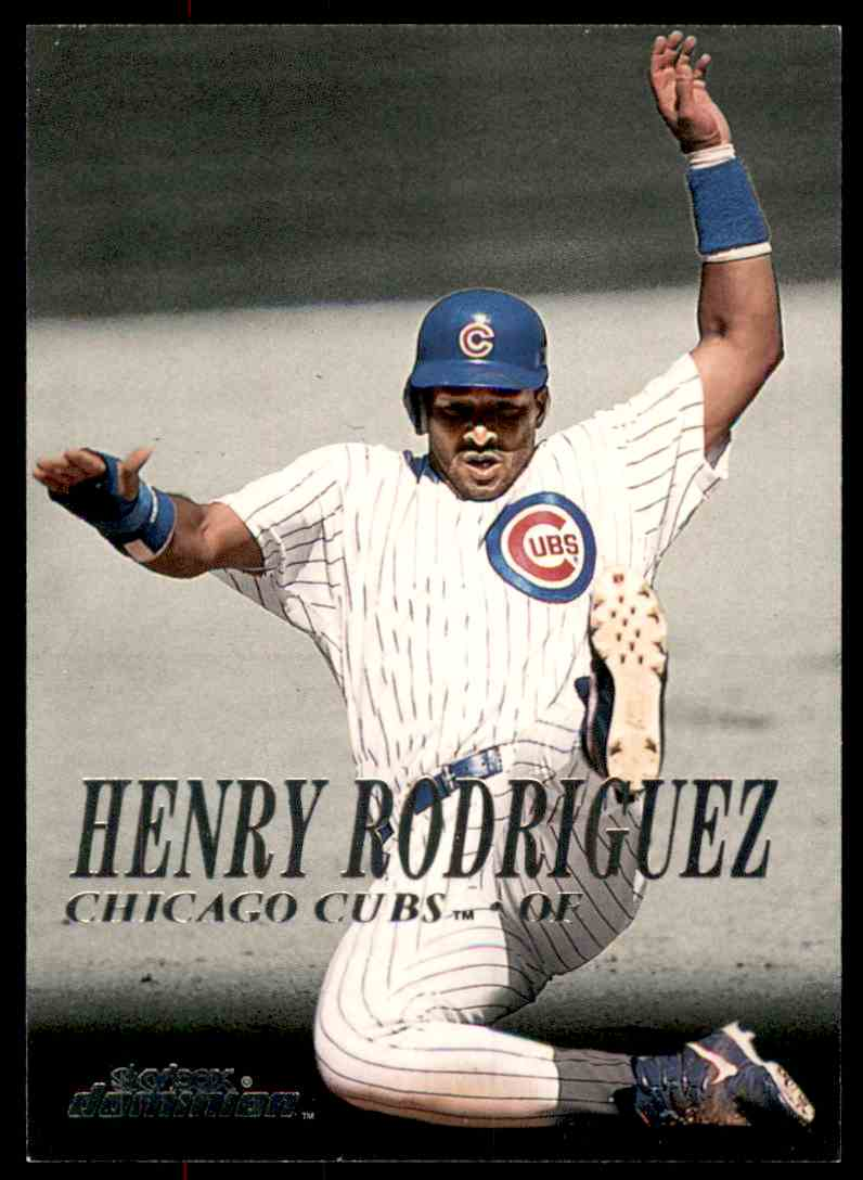 2000 SkyBox Dominion Henry Rodriguez #182 card front image
