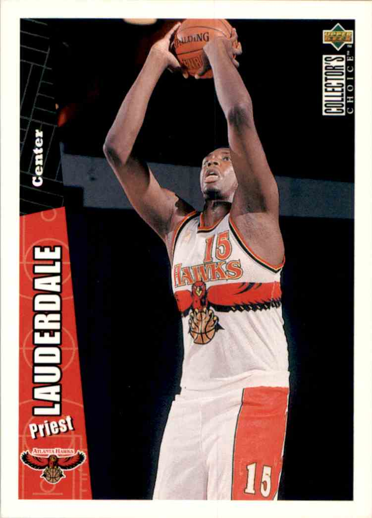 1996-97 Collector's Choice Priest Lauderdale #204 card front image