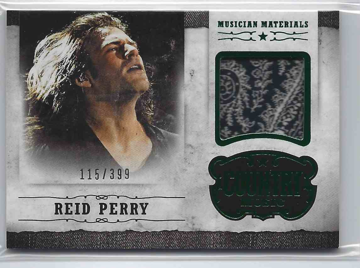 2015 Country Music Musician Materials Green Reid Perry #M-RP card front image