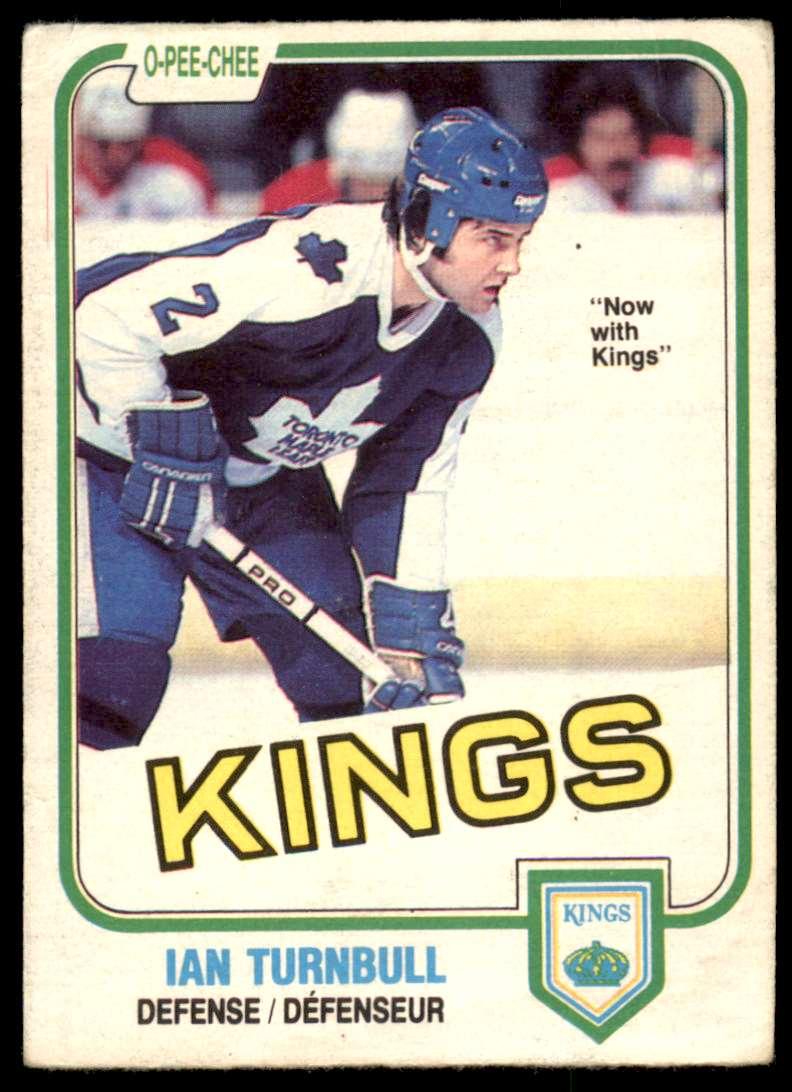 1981-82 OPC Ian Turnbull #309 card front image