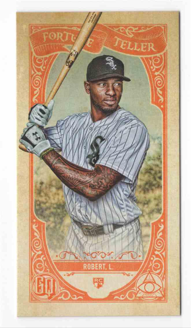 2020 Topps Gypsy Queen Fortune Teller Mini Luis Robert #FTM3 card front image