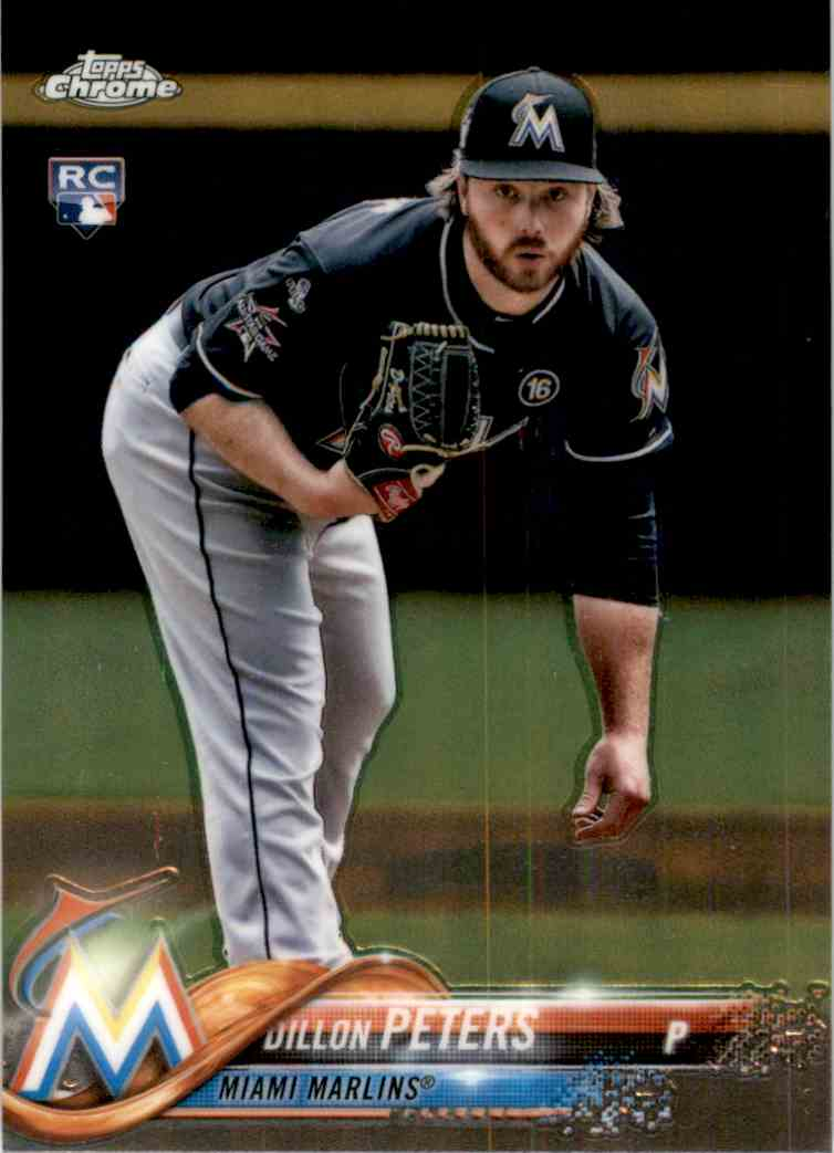 2018 Topps Chrome Dillon Peters #122 card front image