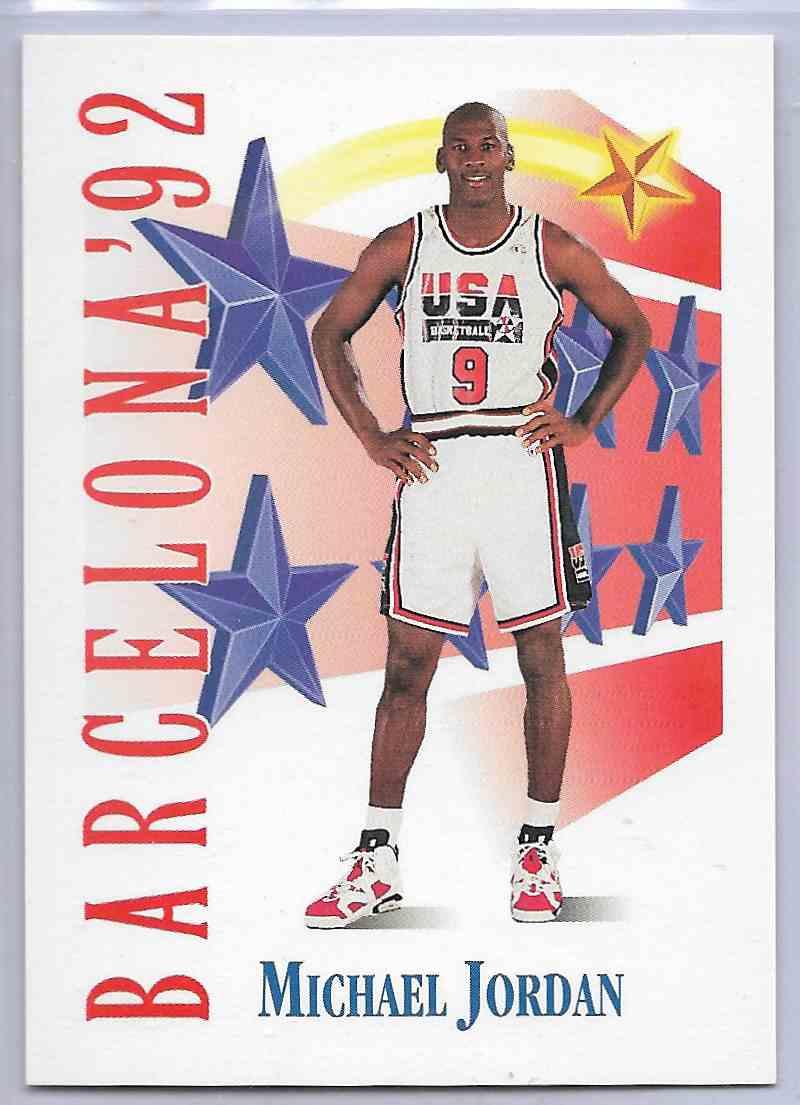 1992-93 Skybox Michael Jordan #534 card front image