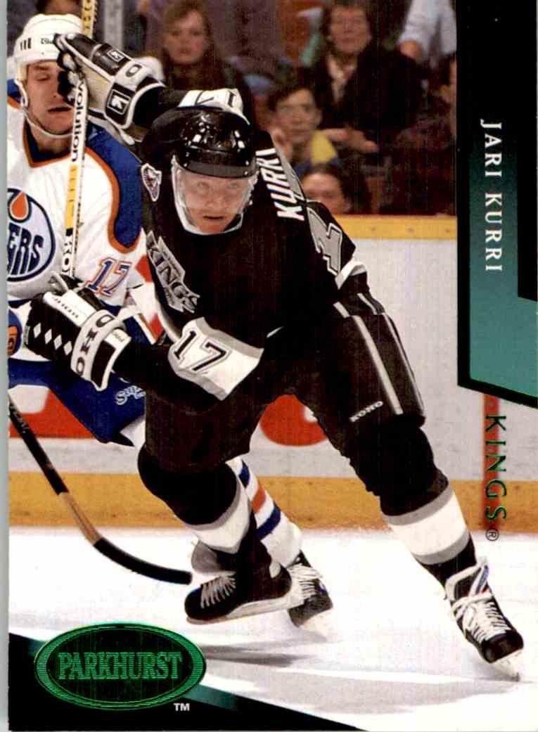 1993-94 Parkhurst Emerald Ice Jari Kurri #365 card front image