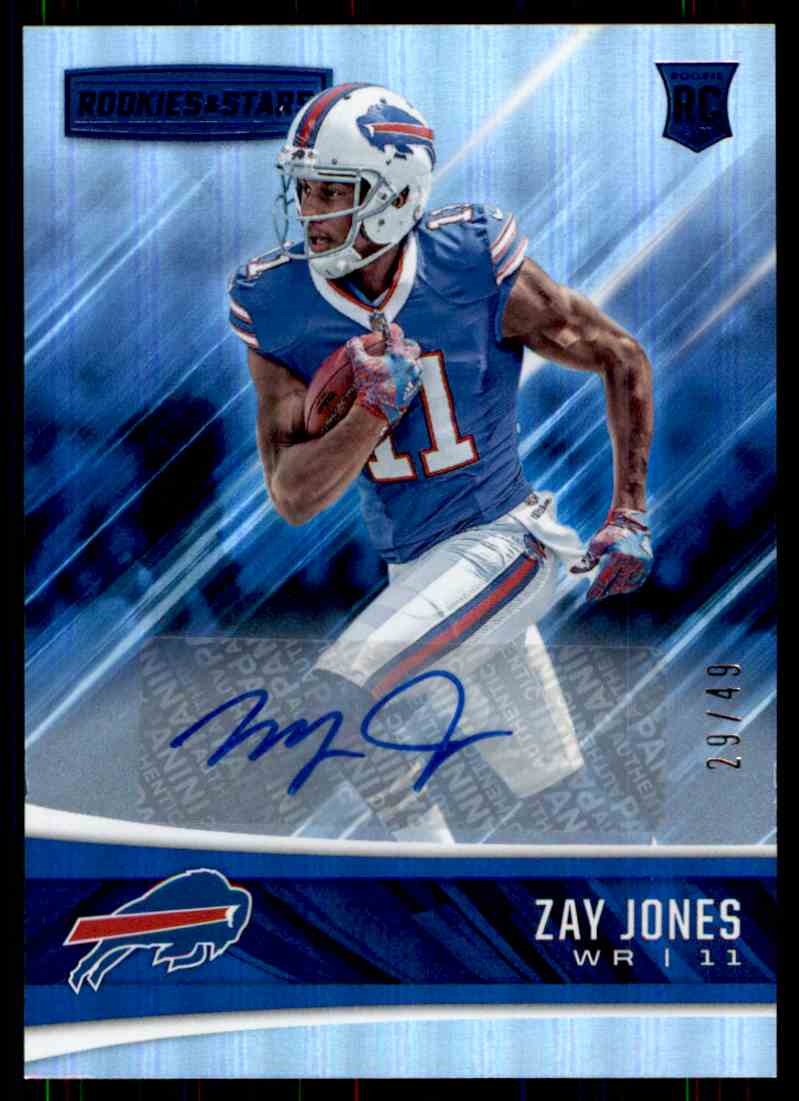 2017 Panini Rookies & Stars Zay Jones card front image