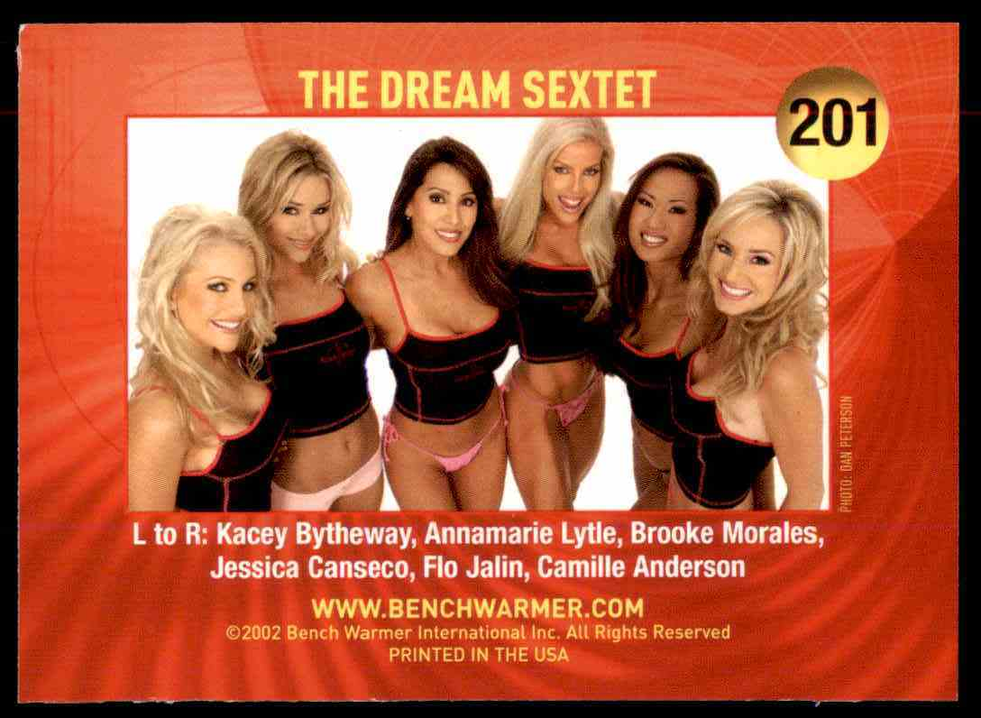 2002 Bench Warmer Dream Sextet #201 card back image