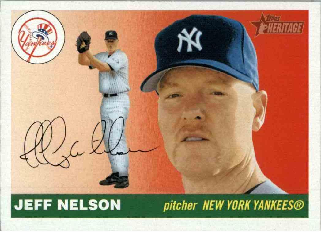 2004 Topps Heritage Jeff Nelson 268 On Kronozio