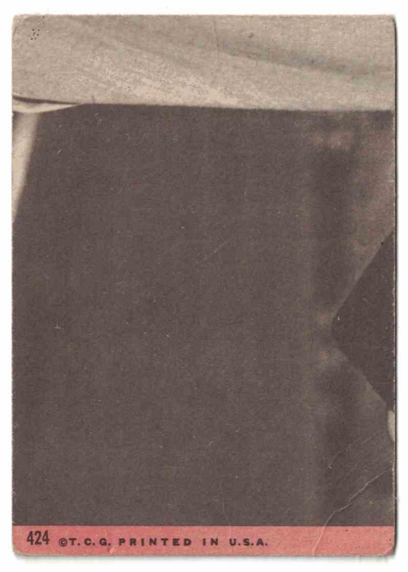 1969 Topps Pete Rose G-VG #424 card back image