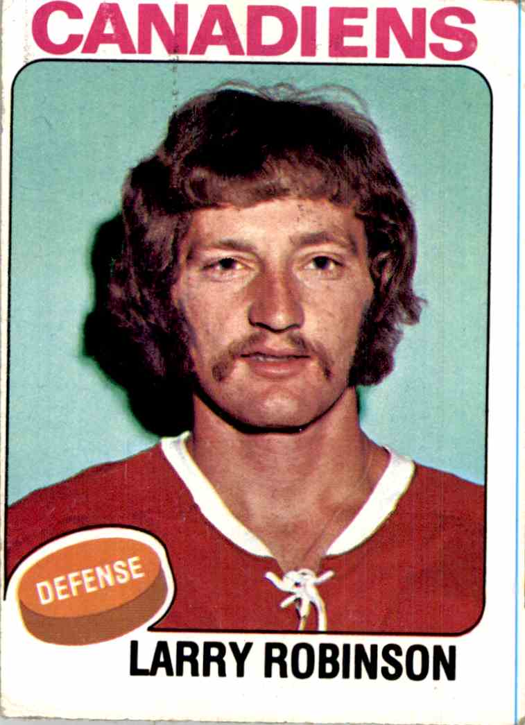 1975-76 Topps Larry Robinson #241 card front image