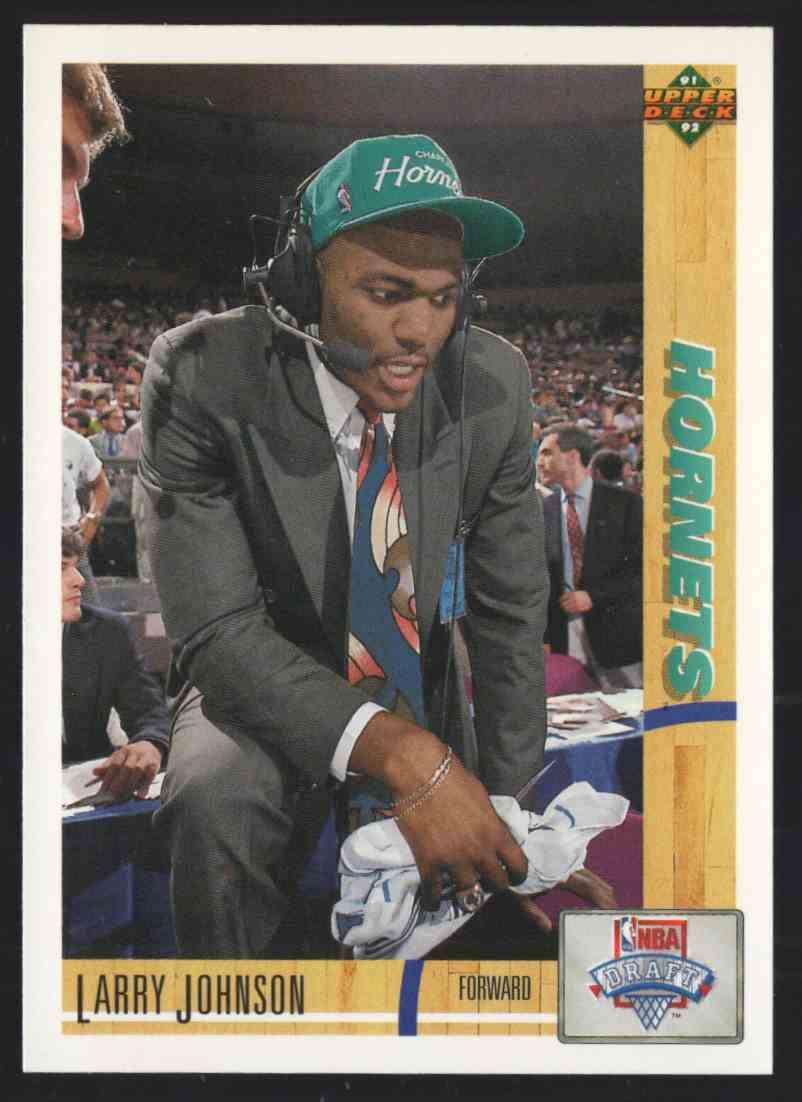 1991-92 Upper Deck Larry Johnson Uer #2 card front image