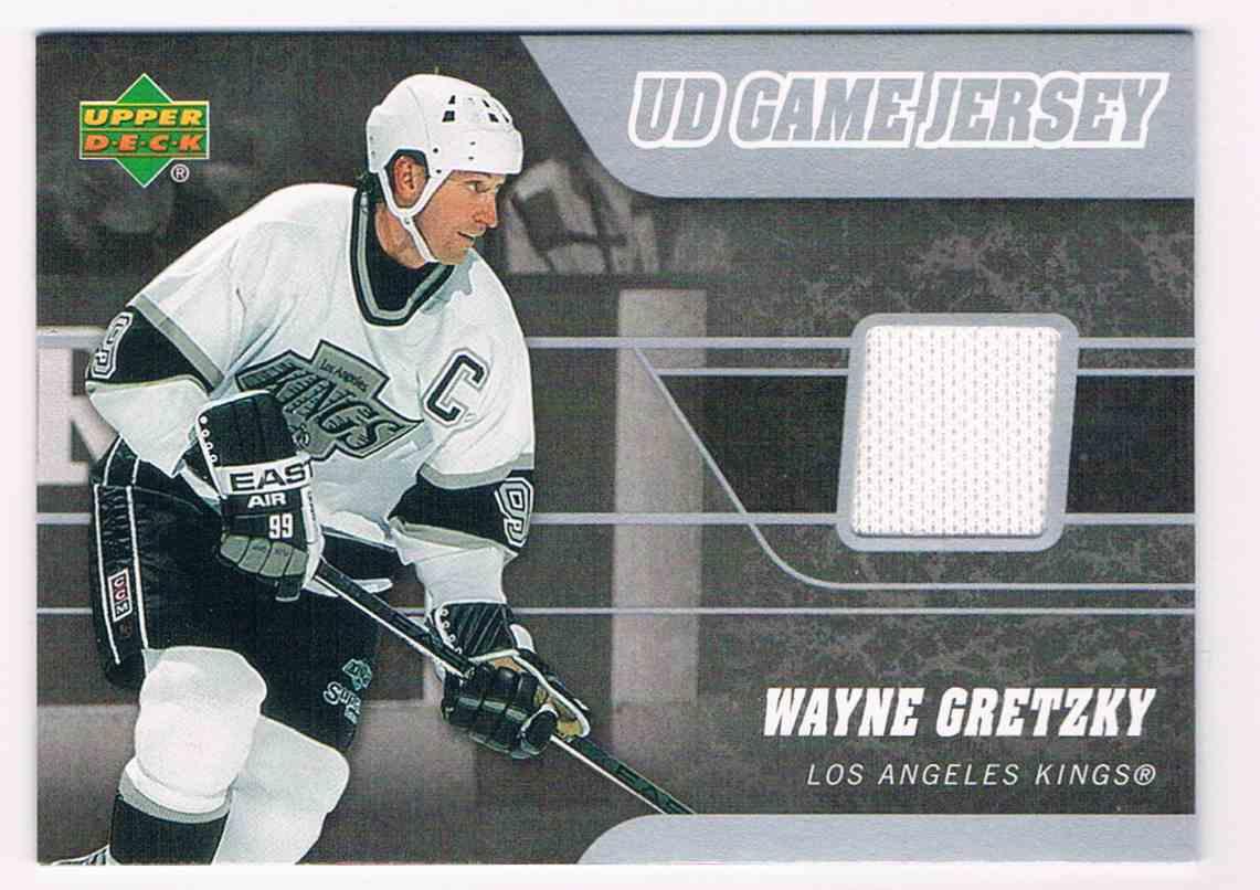 2006-07 Upper Deck Game Jerseys SP Wayne Gretzky #J2-WG card front image
