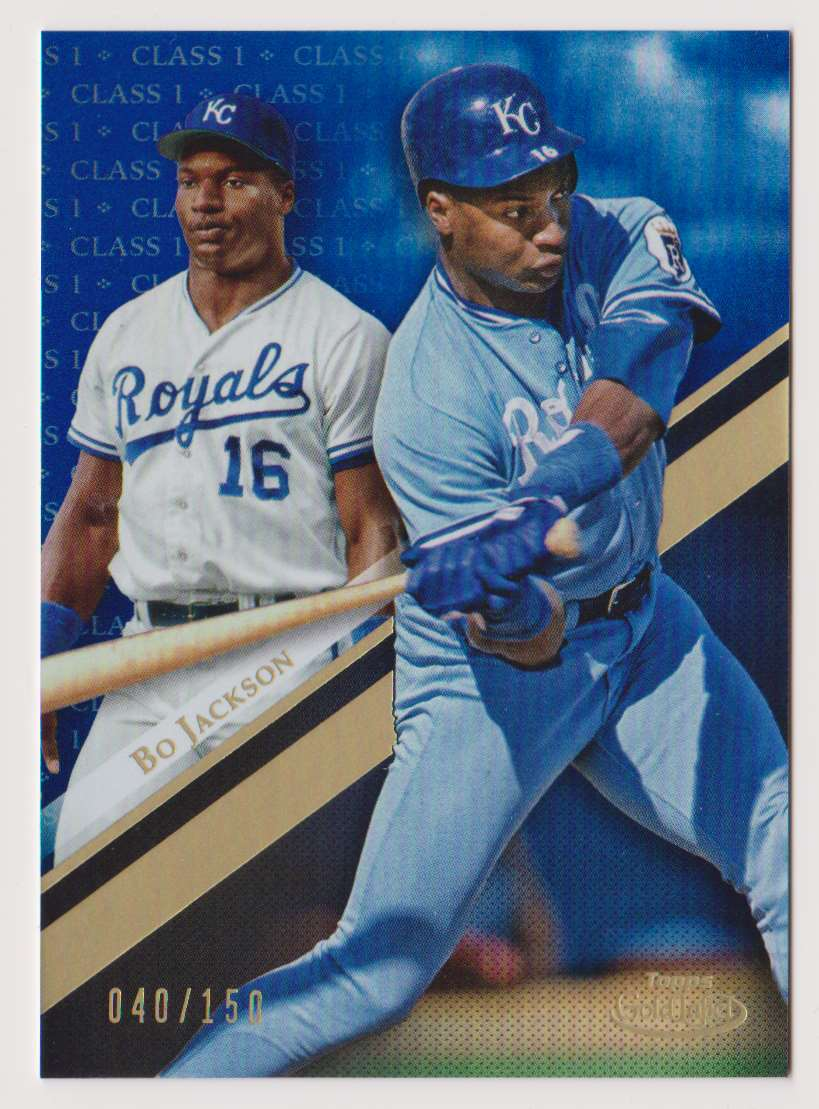 2019 Topps Gold Label Class 1 Bo Jackson #85 card front image