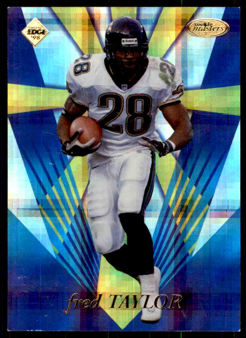 1998 Collectors Edge Fred Taylor card front image