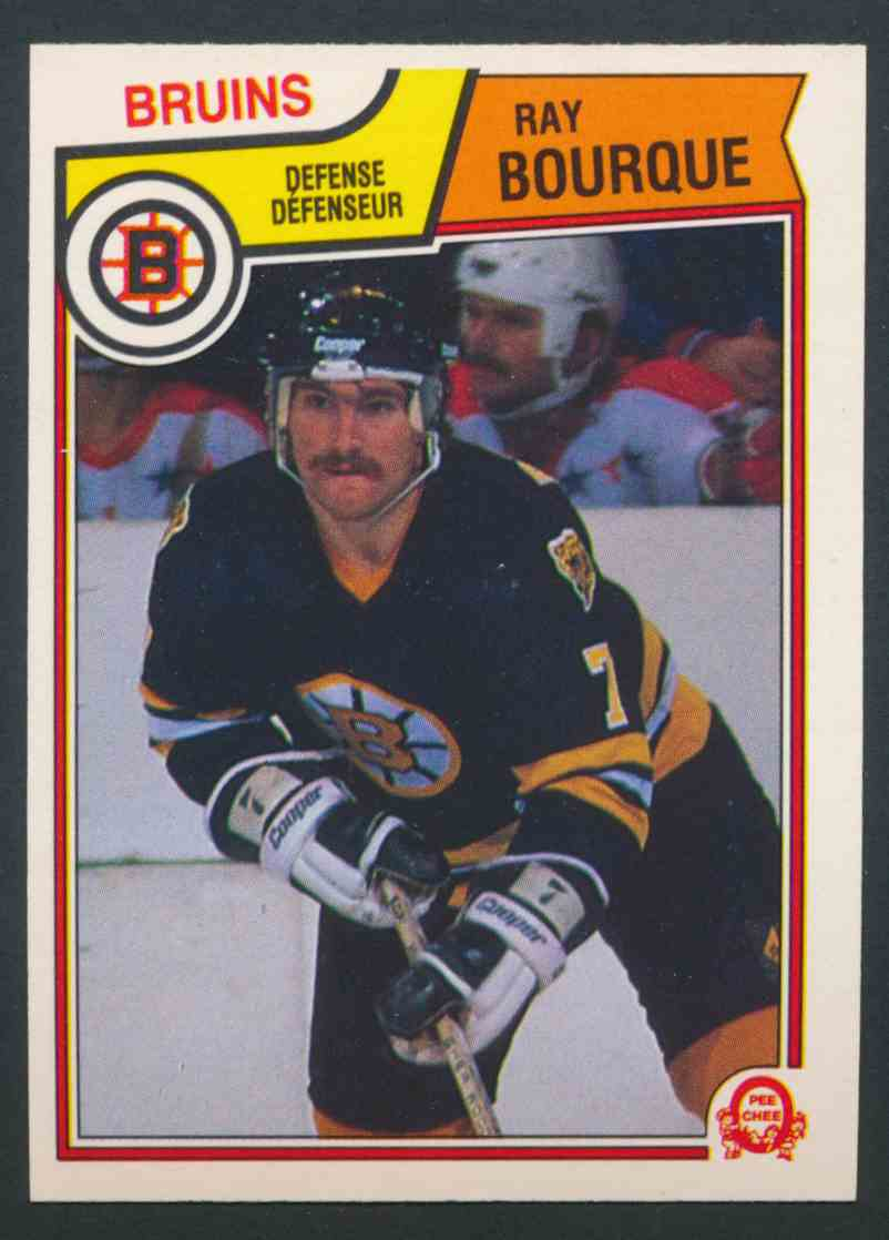1983-84 O-Pee-Chee Ray Bourque - Near Mint/Mint #45 card front image