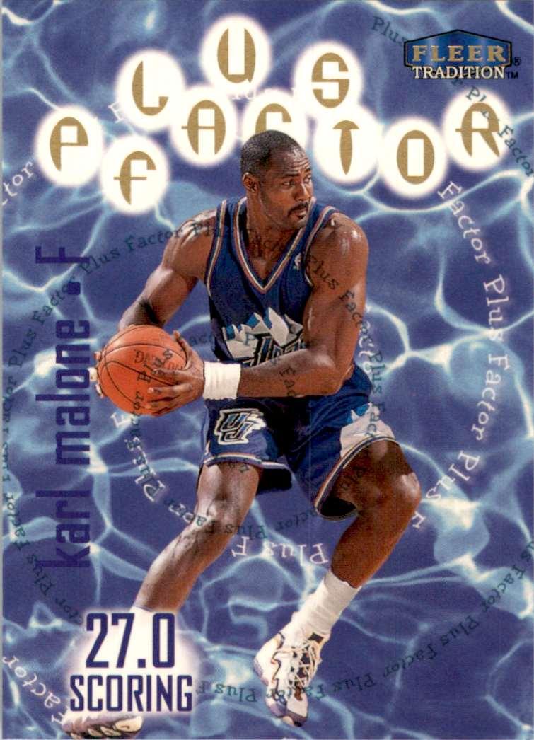 1998-99 Fleer Karl Malone Pf #144 card front image