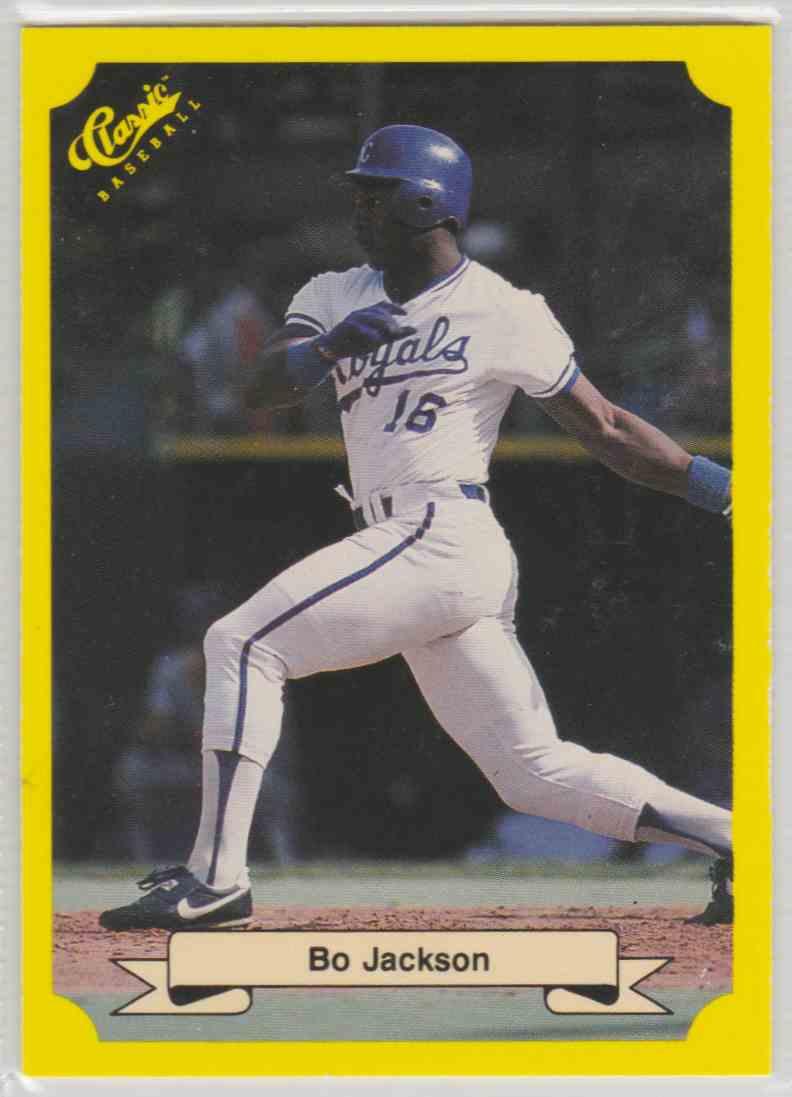 1987 Classic Bo Jackson 109 On Kronozio