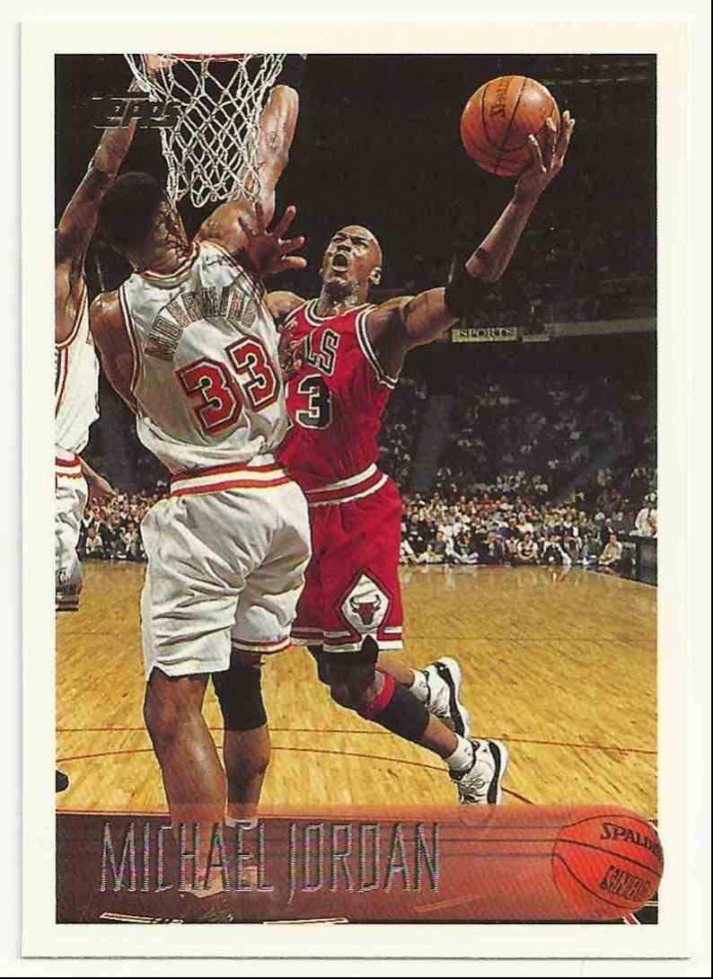 1996-97 Topps Michael Jordan #139 card front image