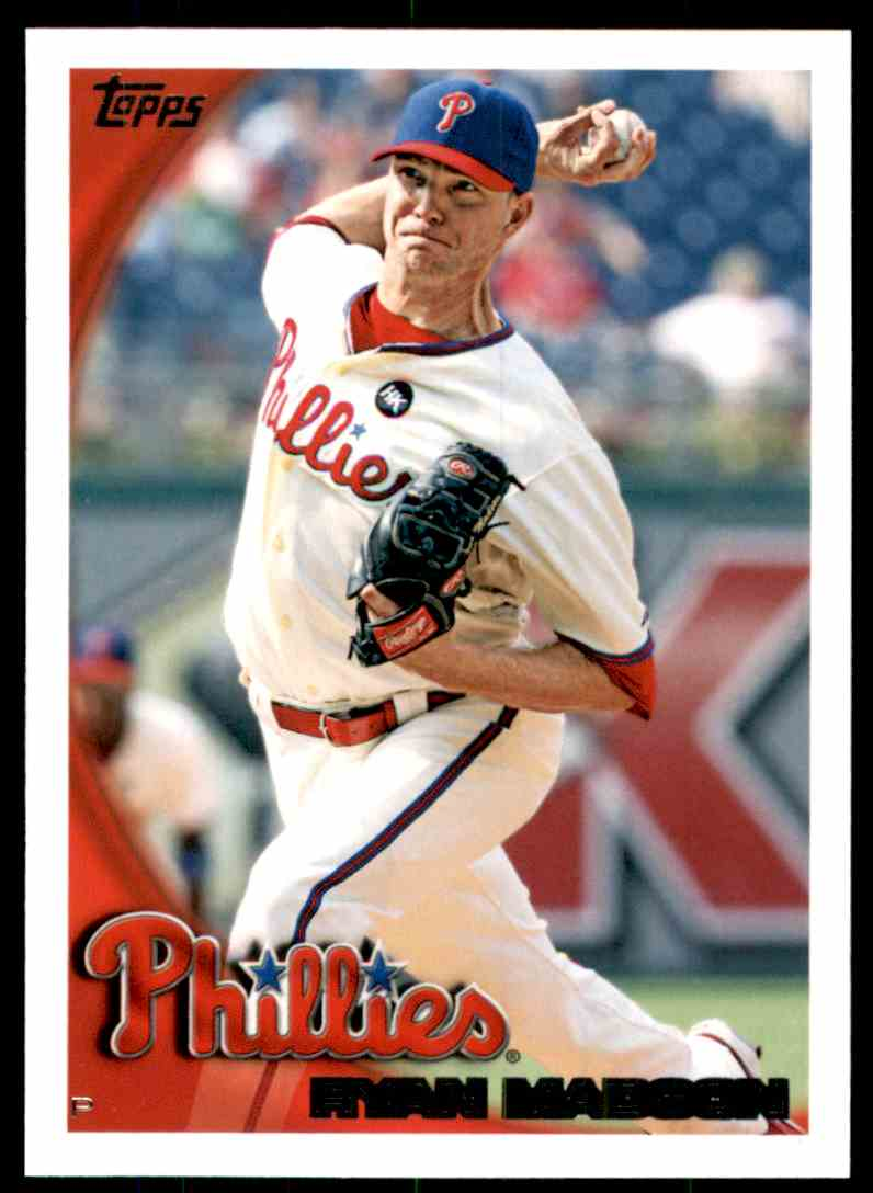 2010 Topps Ryan Madson #655 card front image