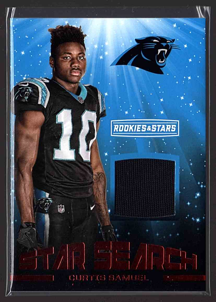 2017 Rookies And Stars Star Search Jerseys Curtis Samuel #32 card front image