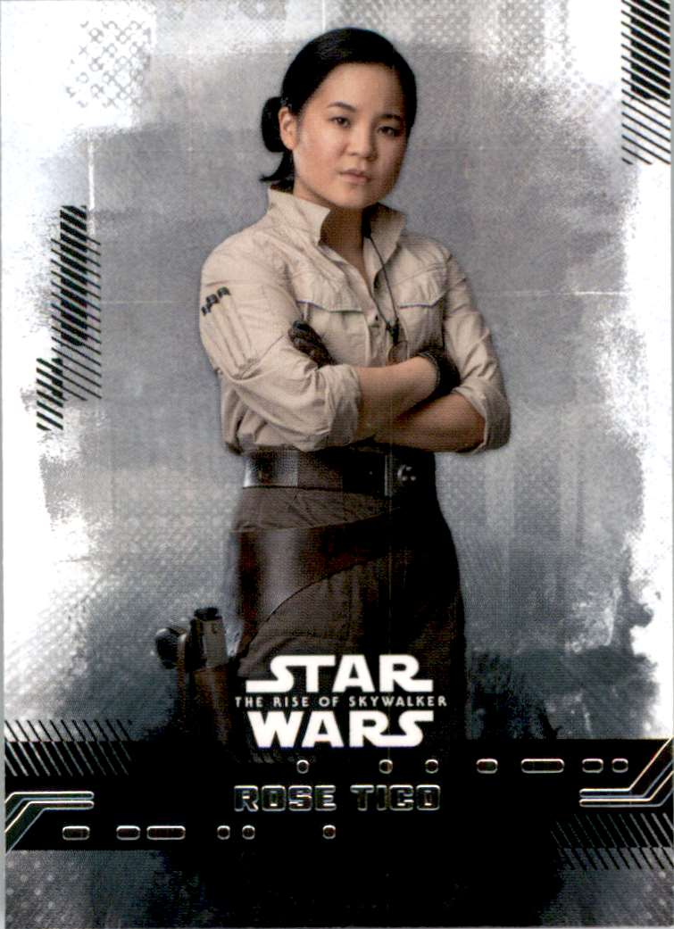 2019 Star Wars The Rise Of Skywalker Series One Rose Tico #6 card front image