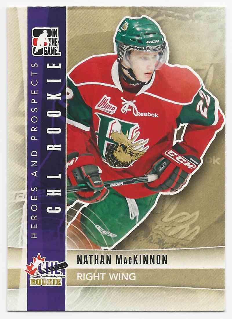 2011-12 ITG Heroes And Prospects Nathan MacKinnon #101 card front image