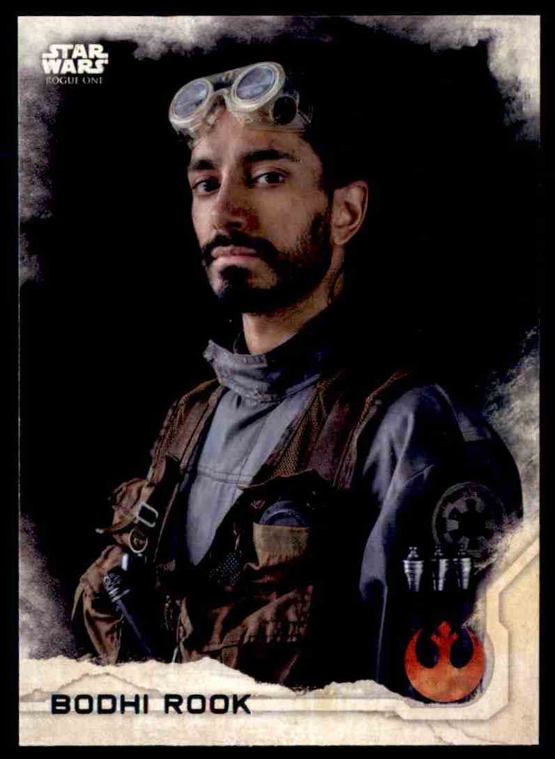 2016 Topps Star Wars Rogue One Bodhi Rook #4 card front image