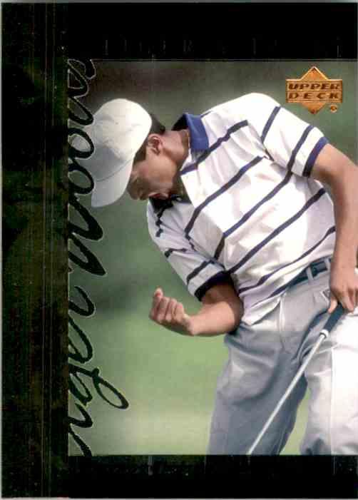 2001 Upper Deck Tiger's Tales Tiger Woods #TT6 card front image