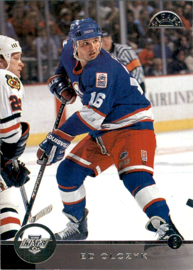 1996-97 Leaf Ed Olczyk #117 card front image