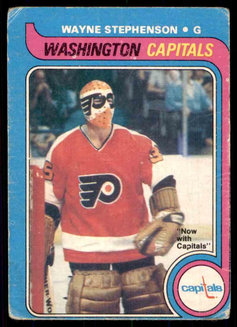 1979-80 O-Pee-Chee Wayne Stephenson #38 card front image