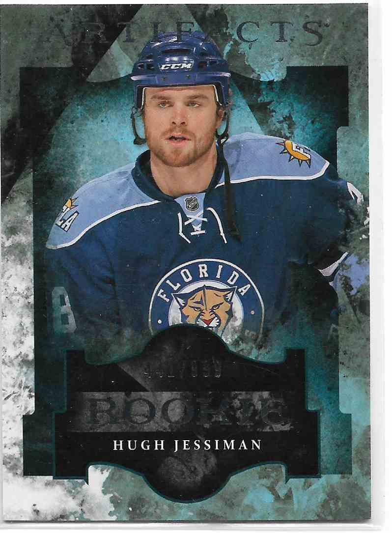 2011-12 Upper Deck Artifacts Hugh Jessiman #157 card front image