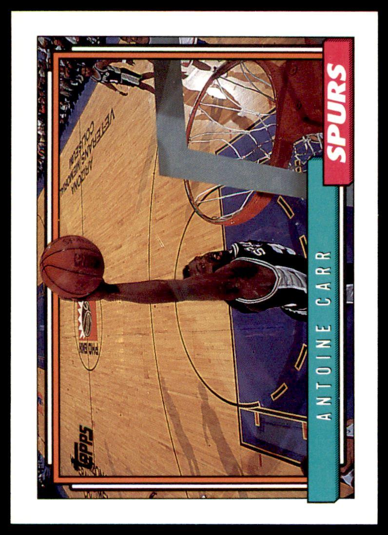1992 93 Topps Antoine Carr 149 on Kronozio