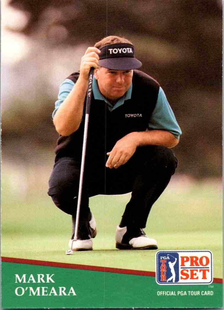 1991 Pro Set Mark O'Meara #113 card front image