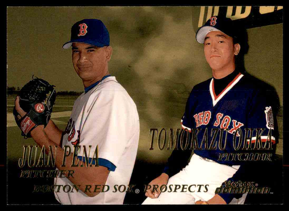 2000 SkyBox Dominion J.Pena/T.Ohka RC #273 card front image