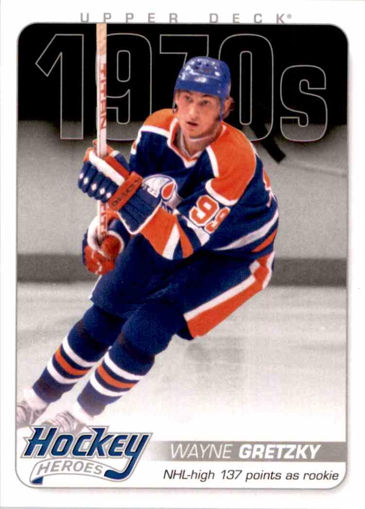 2012-13 Upper Deck Hockey Heroes Wayne Gretzky #HH27 card front image