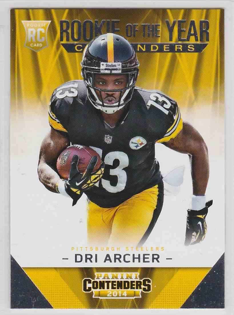 2014 Panini Contenders Rookie Of The Year Contenders Dri Archer #RDY-16 card front image