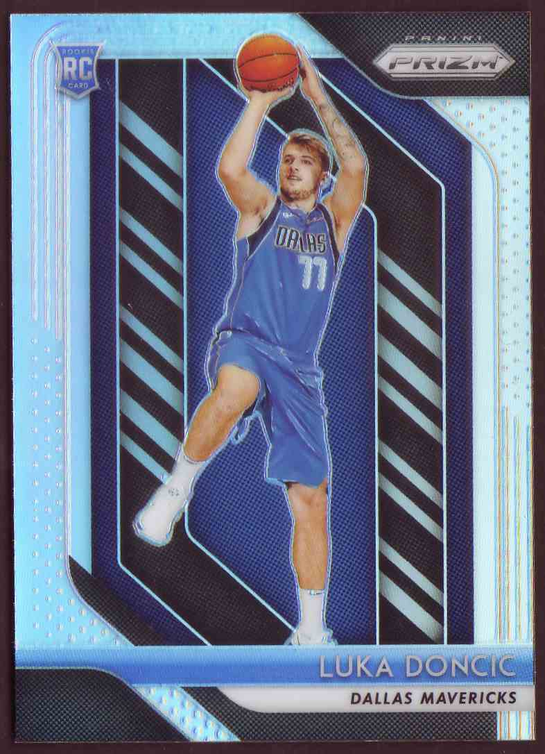 2018-19 Panini Prizm Prizm Silver Luka Doncic #280 card front image