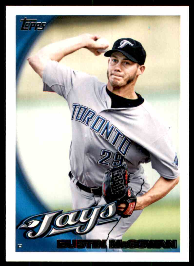 2010 Topps Dustin McGowan #405 card front image
