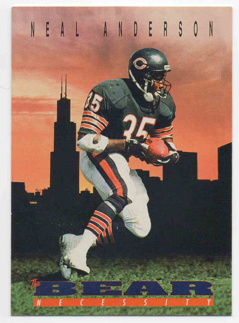 1992 Skybox Primetime Neal Anderson #23 card front image