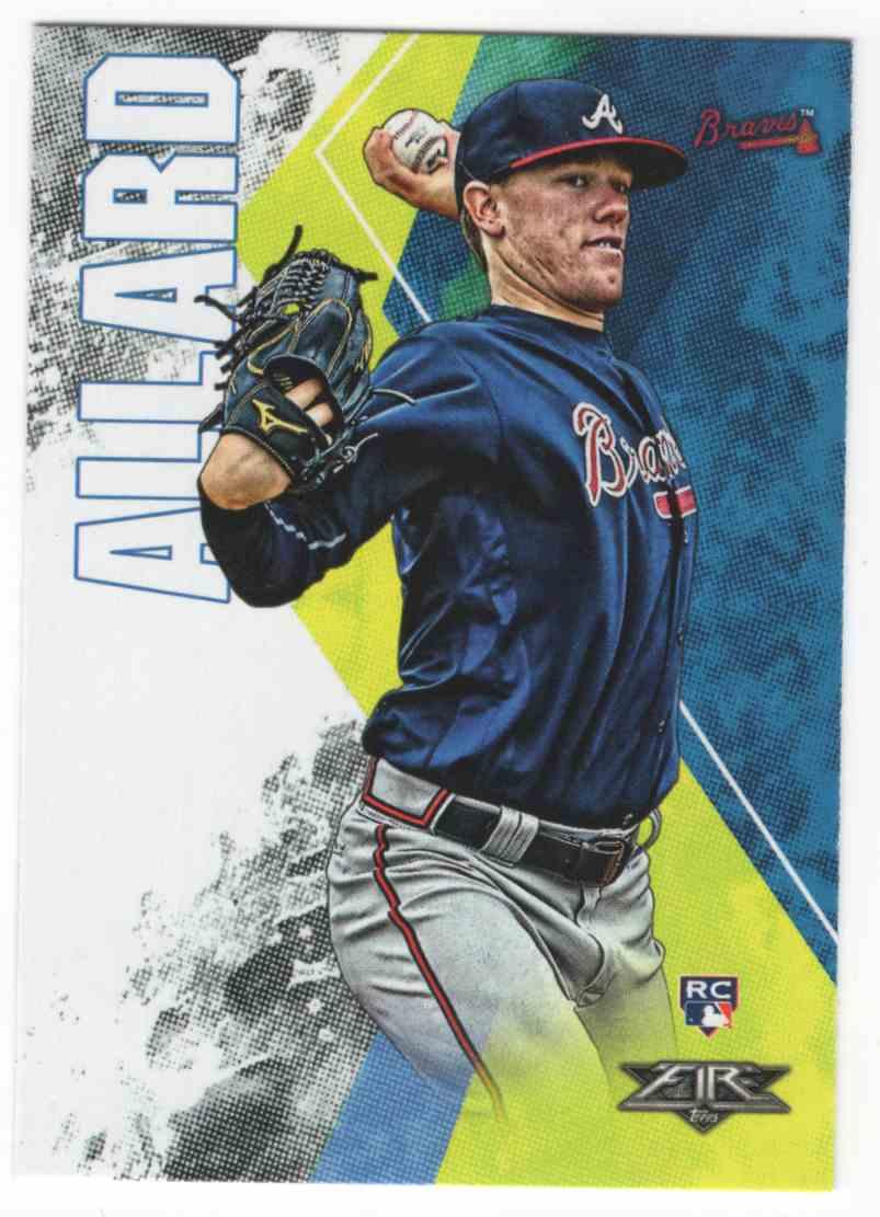 2019 Topps Fire Kolby Allard #7 card front image