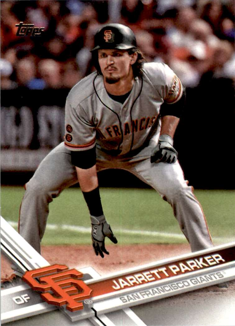 2017 Topps Series 2 Jarrett Parker #410 card front image