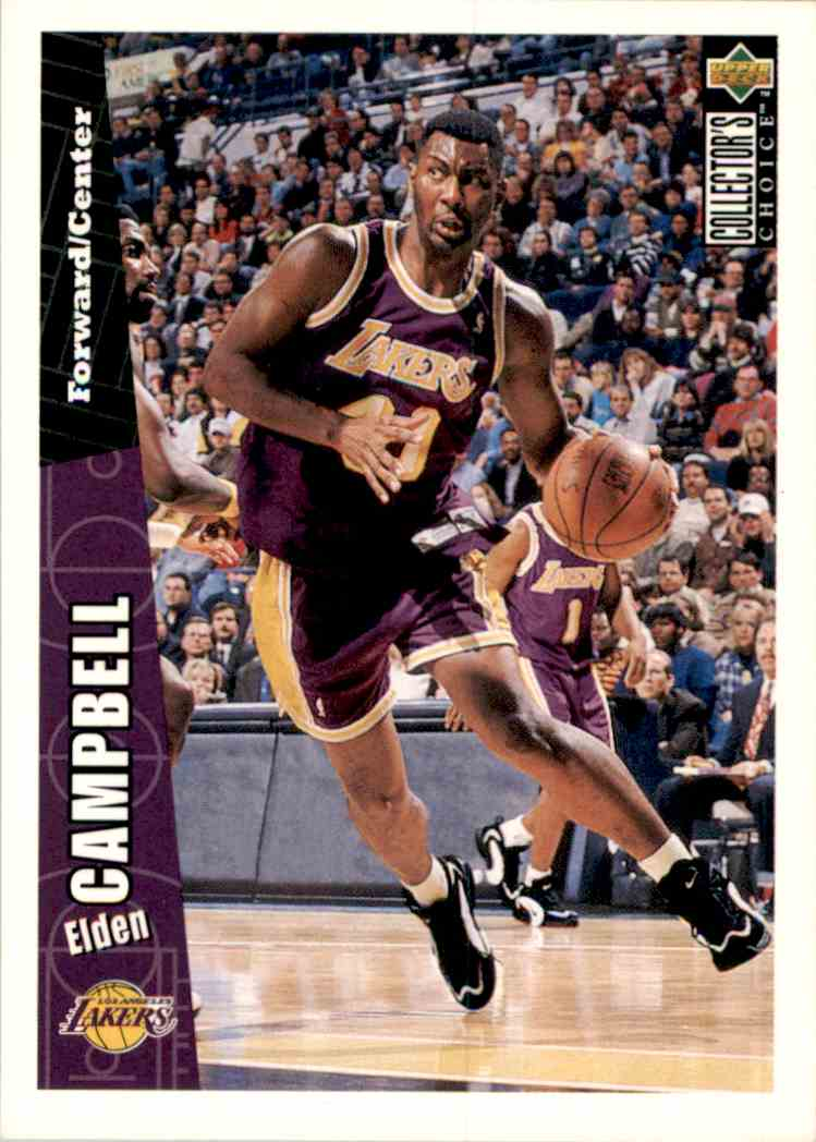 1996-97 Collector's Choice Elden Campbell #268 card front image
