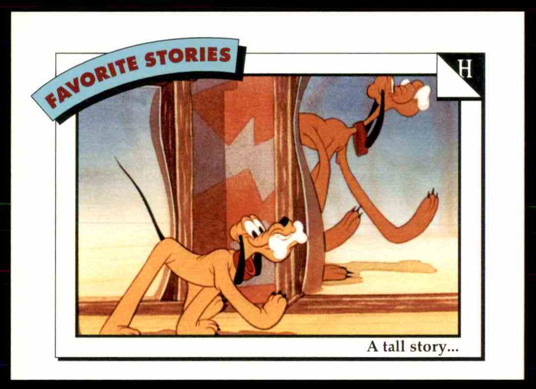 1991 Disney Series One A Tall Story #11 card front image