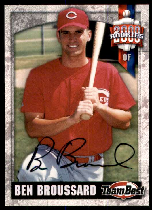 2000 Team Best Rookies Autographs Ben Broussard #10 card front image